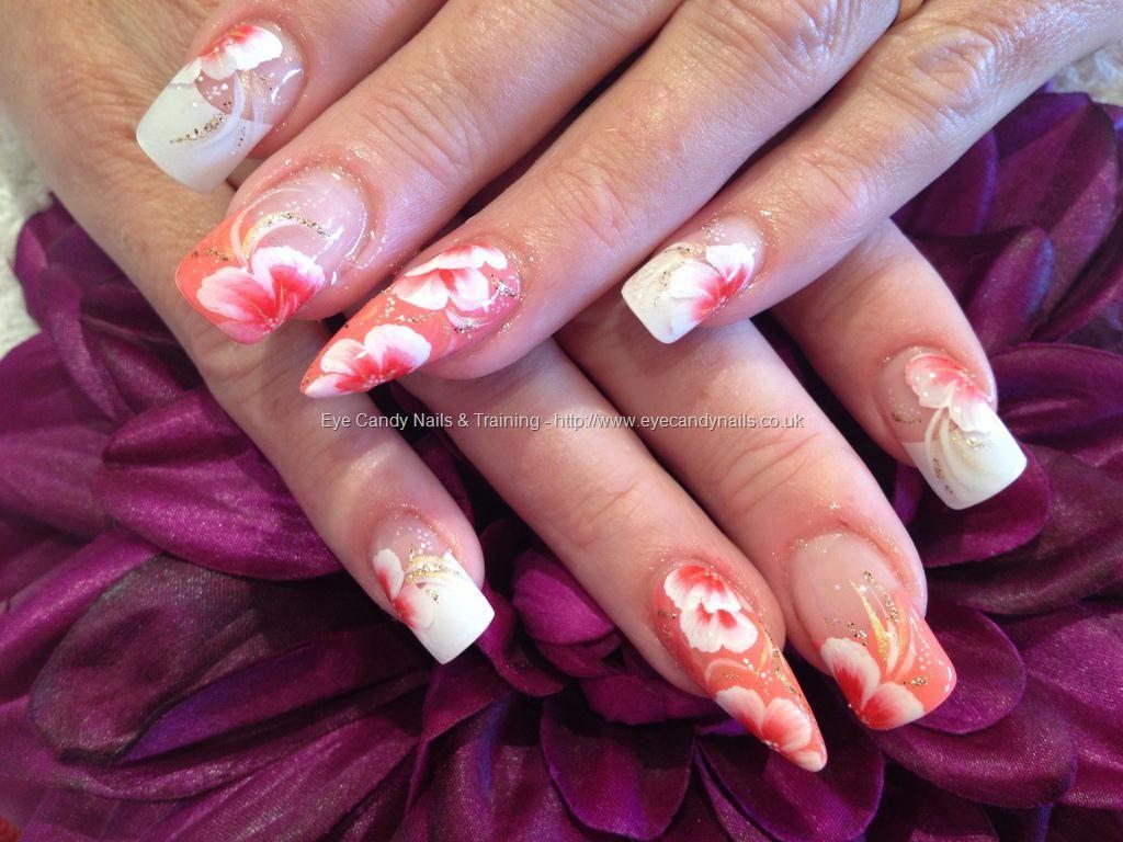 One Stroke Nail Art Nails Pinterest Gel Nail Extensions Nail