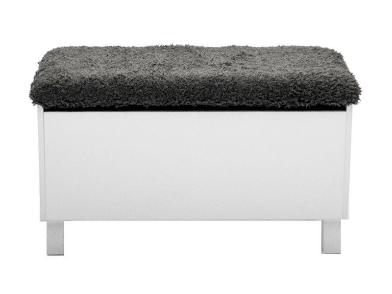 BOX Sittbänk med förvaring Vit i gruppen Inomhus Förvaring Hallmöbler hos Furniturebox (10