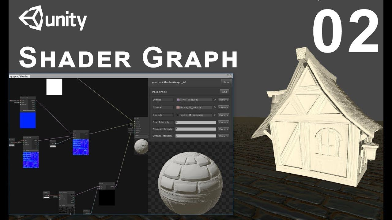 Unity 2018 Shader Graph / Editor - Tutorial 02 | unity in 2019