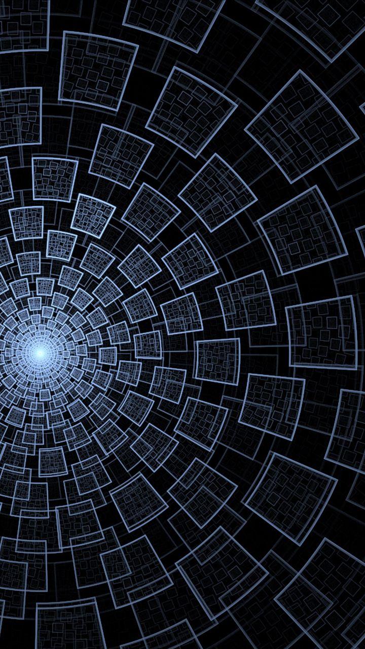 Circles, squares, pattern, abstract, 720x1280 wallpaper ...