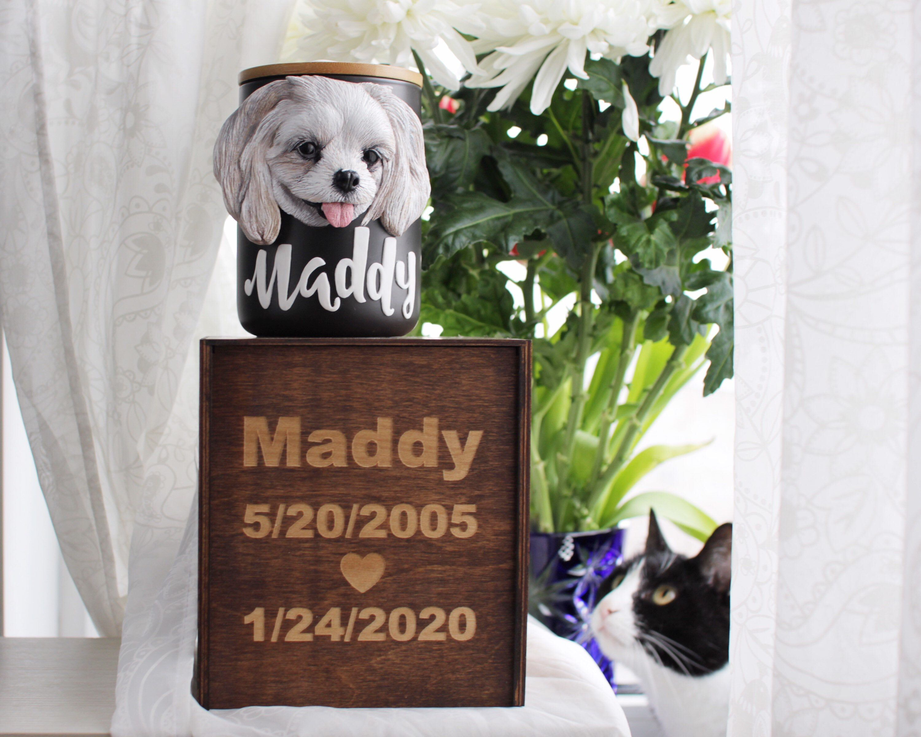 Custom Pet Urn, Dog Urns For Ashes, Cat Urn For Ashes