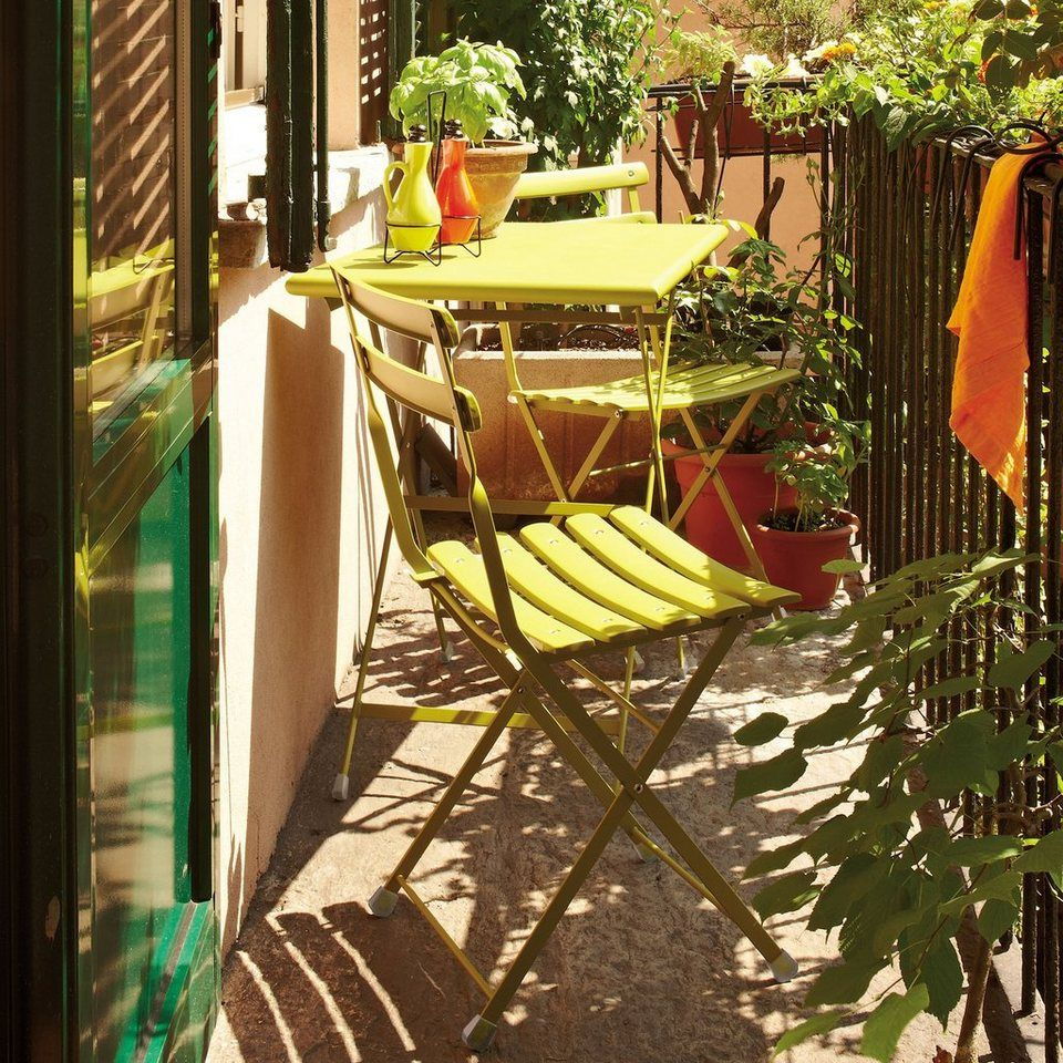 Emu Klappstuhl Arc En Ciel Klappstuhl Fur 138 00 Kompakte Gartenmobel Luftiges Design Wetterfest Als Gartenstuhl Balkon Design Balkon Dekor Balkonentwurf