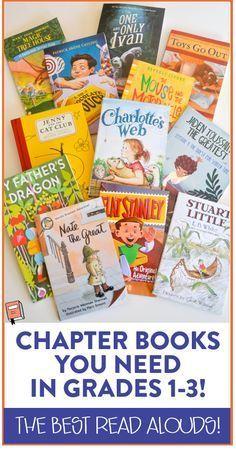 3rd grade read aloud chapter books