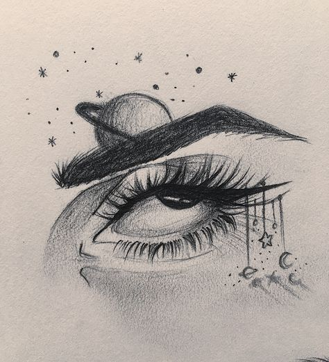 Beautiful Nature Pencil Drawings: 54+ New Ideas Drawing Pencil Tumblr Eyes In 2020