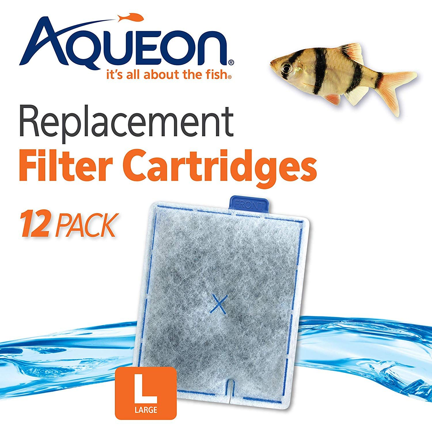 Salt Water Aquarium Filter Ready To Use Cartridge Contains High Quality Activated Carbon That Keeps Water Clean Rin In 2020 Filters Replacement Filter Aquarium Filter