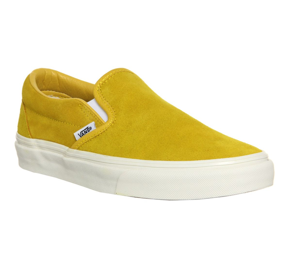 0e5cd9bcd8daf9 Vans Vans Classic Slip On Vintage Suede Sulphur Yellow - Unisex Sports