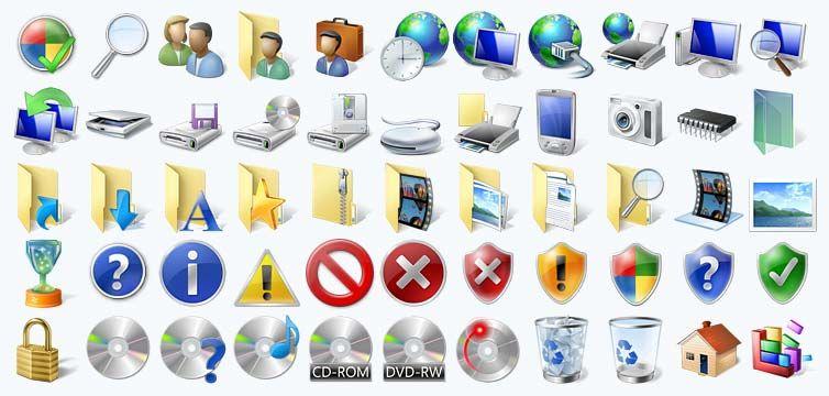 Windows 7 icons | Apps | Application icon, Windows, App