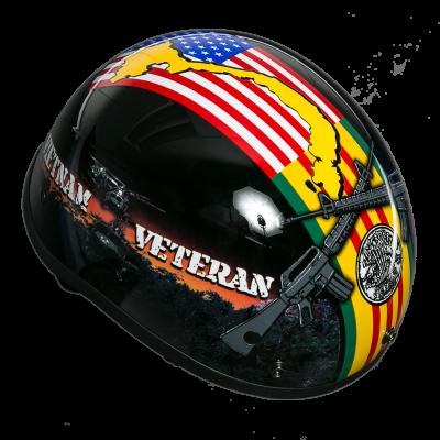 Vietnam Veteran Motorcycle Helmet Veteran Motorcycle Helmets Half Helmet