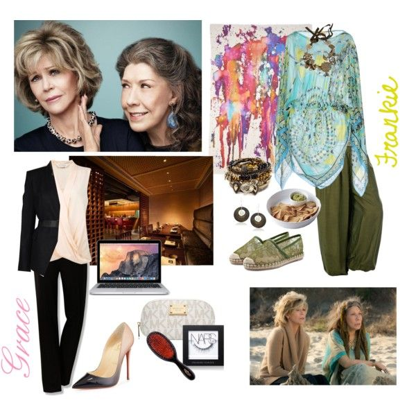 Grace And Frankie Inspired. Jane Fonda & Lily Tomlin