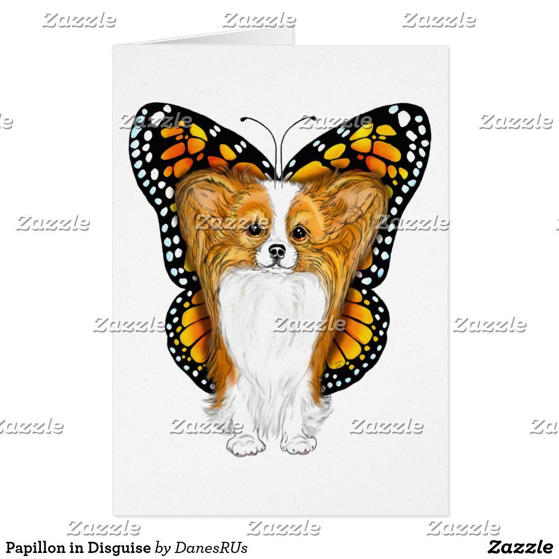 Papillon In Disguise Zazzle Com Papillon Dog Papillon Dog Coloring Page [ 1106 x 1106 Pixel ]