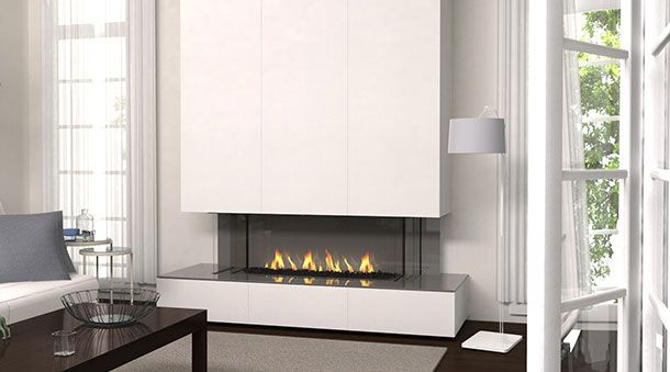 Regency City Series San Francisco Bay 40 Home Living Room Fireplace Surrounds Fireplace