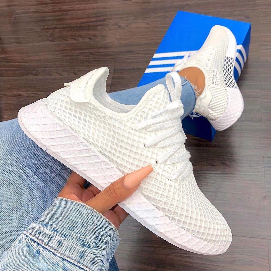 Denim x Triple White adidas Deerupts for spring ...