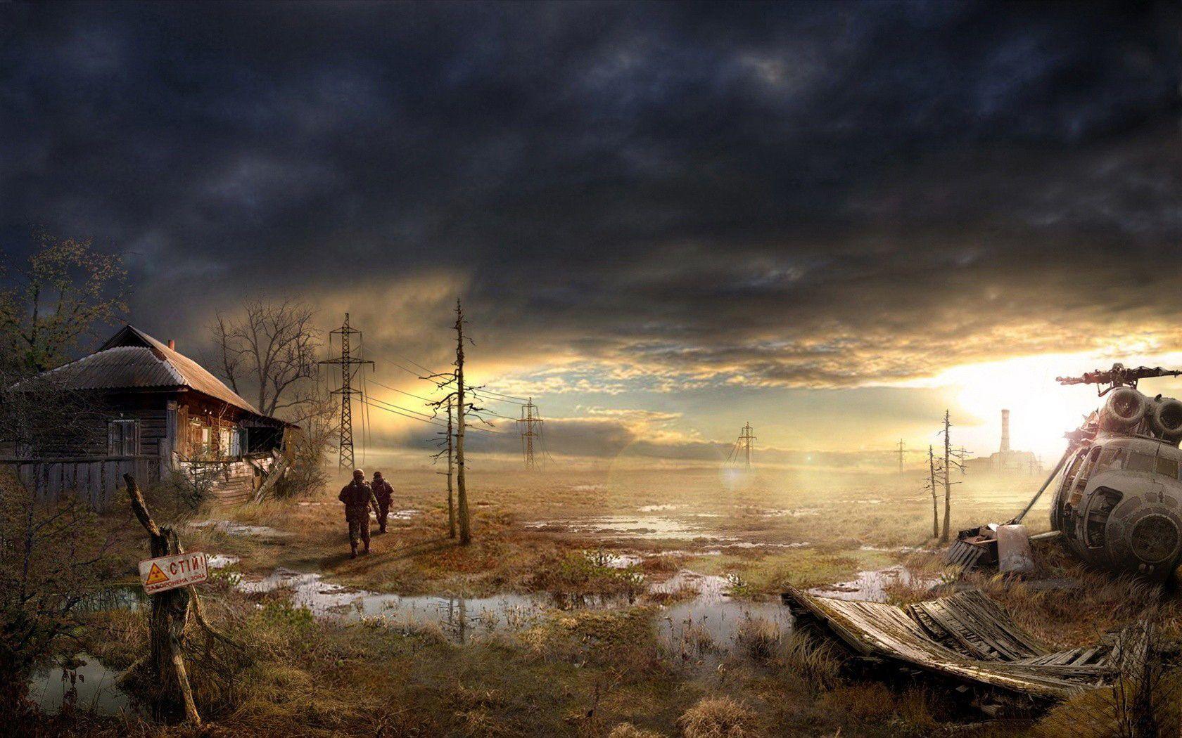 Post Apocalyptic Computer Wallpapers, Desktop Backgrounds 1680x1050 Id: 344996