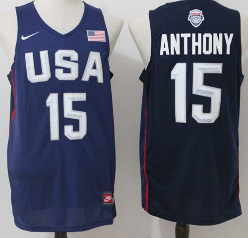 e3eca89553e0 ... sweden nike team usa 15 carmelo anthony navy blue 2016 dream team  stitched nba jersey bbbbc