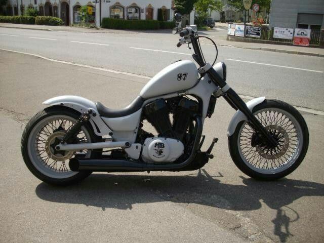I want to build a Suzuki Intruder 1400 like this. | Bikes ...