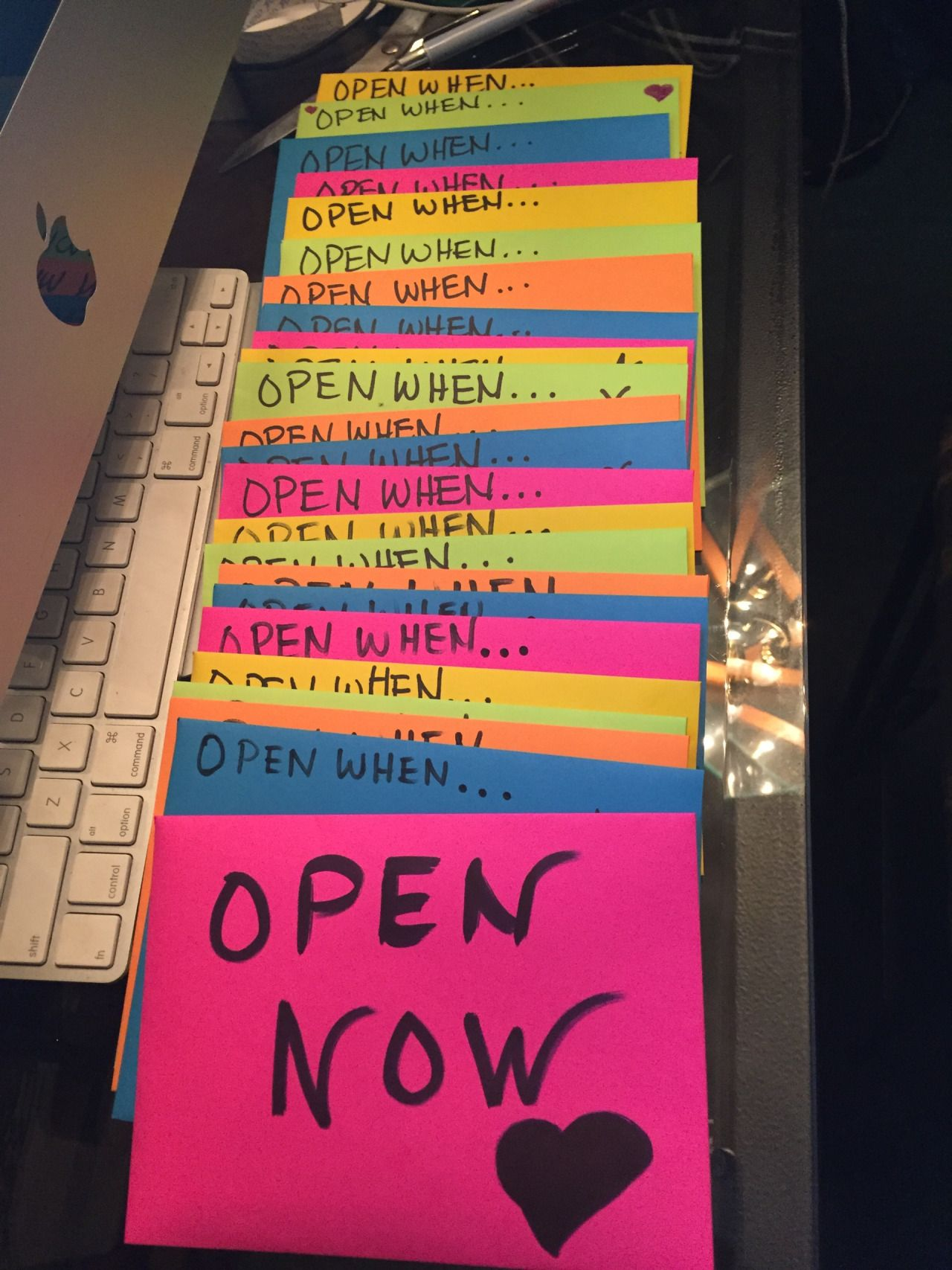 Bythewayimalecia Open When Letters For My Boyfriend Whose On A