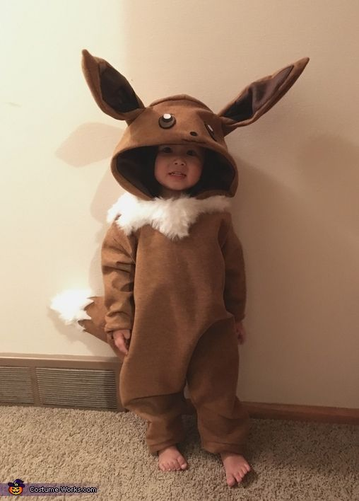 Grass Pokemon Eevee Costume - 2016 Halloween Costume Contest Disfraces Para  Niños 101b4c02586f