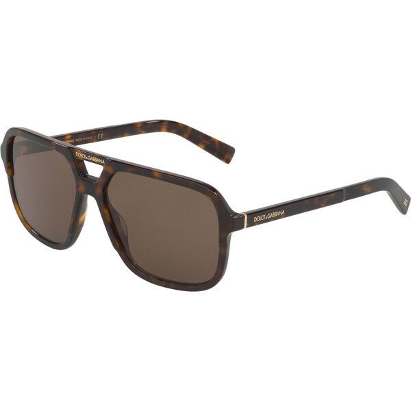 Dolce & Gabbana DG4354 502/73, Plastic, Havana, Sunglasses …
