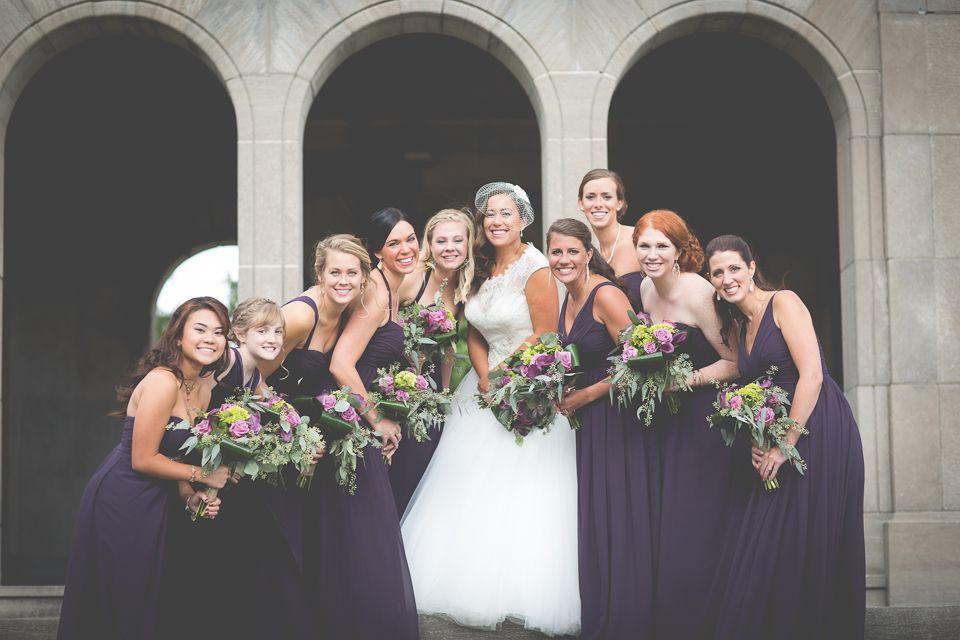 Anne & TJ Chateau des Charmes Winery Wedding