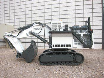 &&  LIEBHERR Liebherr heavy machinery R9800 BACKHOE backhoe R9800