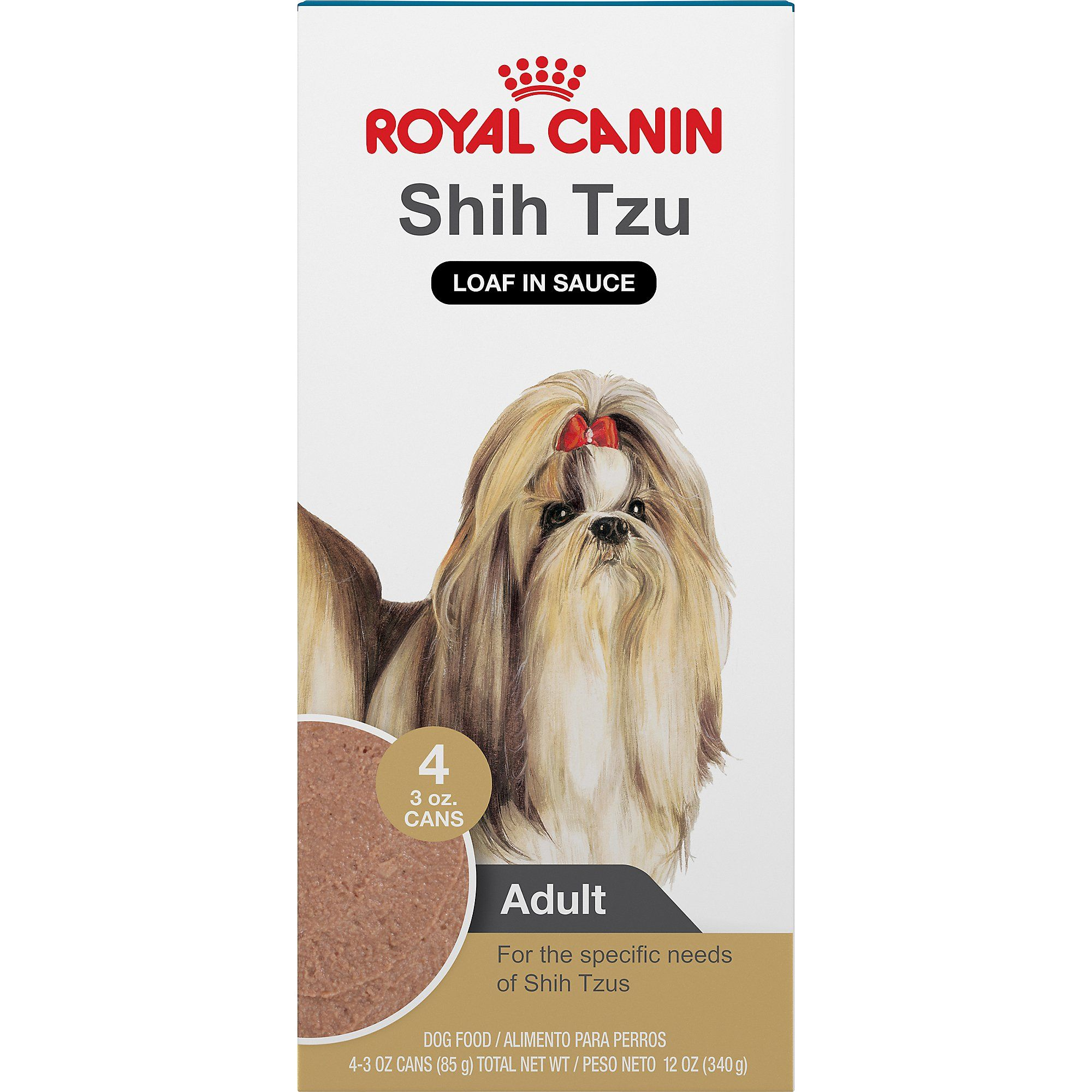 Royal Canin Breed Health Nutrition Shih Tzu Loaf In Sauce Food For
