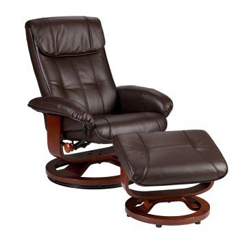Awesome Southern Enterprises Pecos Recliner And Ottoman Cafe Brown Uwap Interior Chair Design Uwaporg