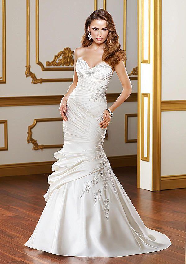 Wedding Dresses – Mori Lee Bridal 1818 - In Stock Strapless Satin