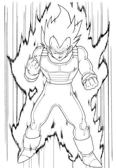 Dibujos de Dragon Ball: fotos ideas para colorear - Dibujo dinámico ...