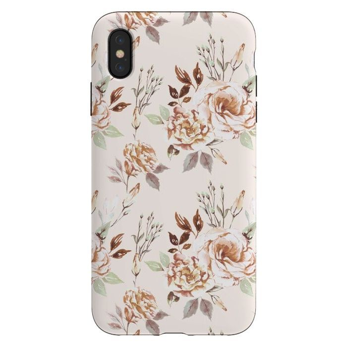 The series Tough Cases offers the possibility of protecting your Apple iPhone 11 with DOUBLE protection and Slim Profile samsung The Calm floral cases by Anis Illustratio...