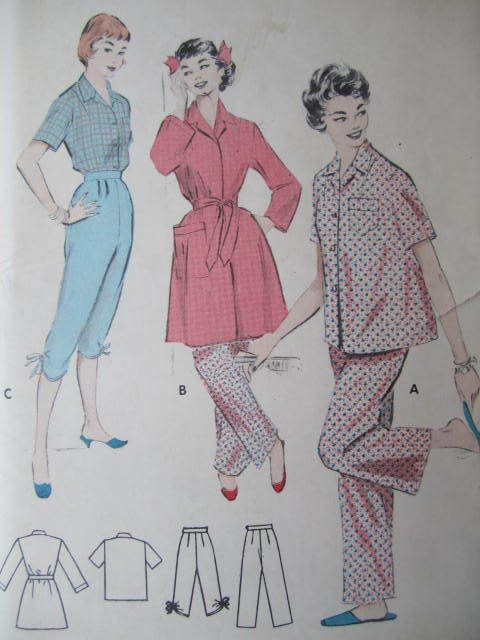 See Sally Sew-Patterns For Less - Pajamas