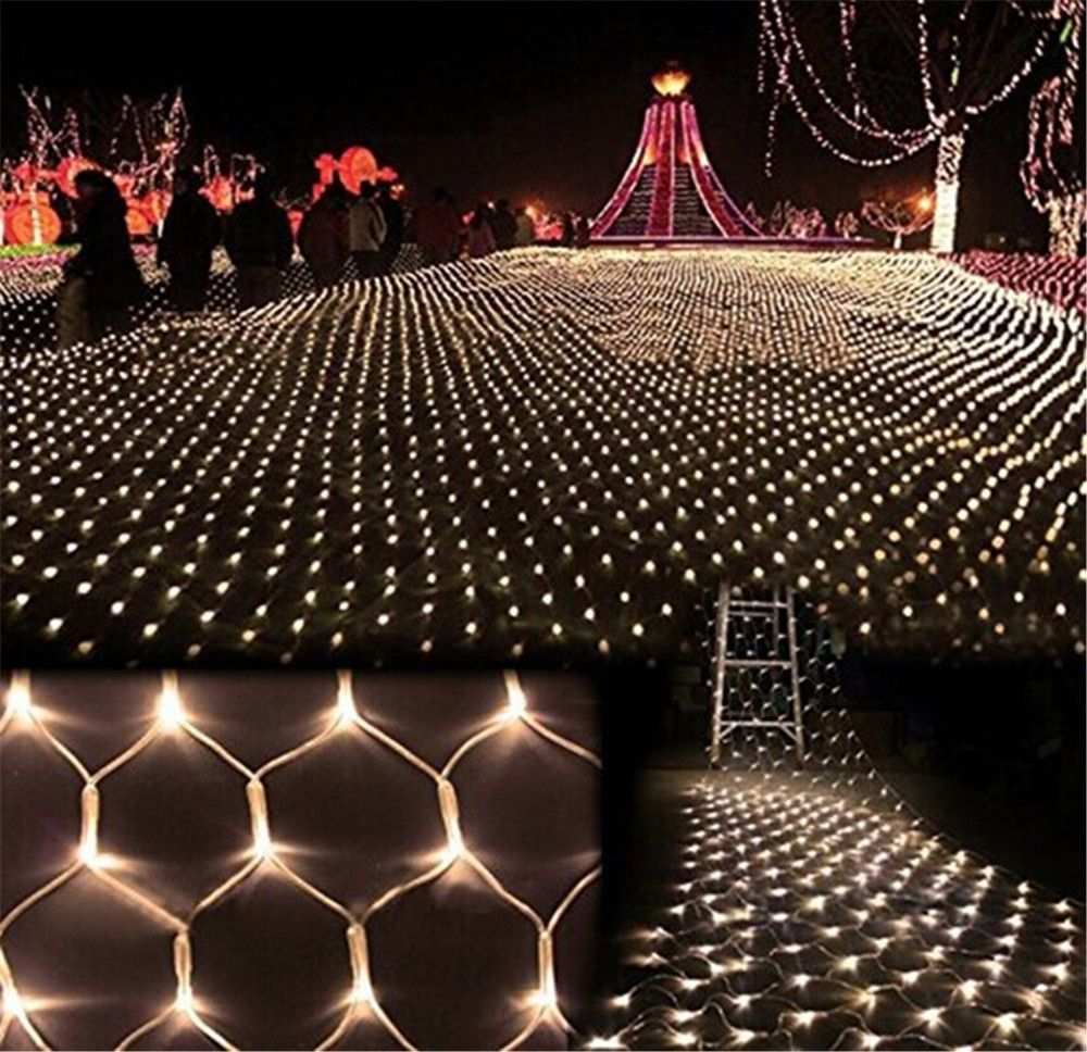kmashi 8mx10m 1920 led large net light string lights mesh fishing fairy outdoor net string holiday lighting memory control us eu affiliate