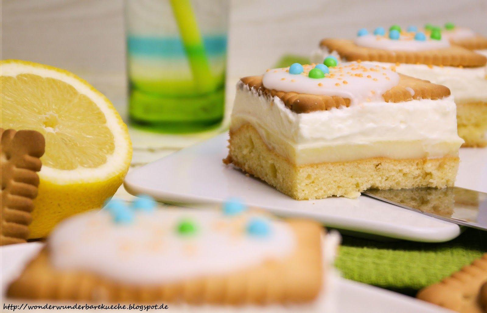 Zitronen butterkeks kuchen dr oetker