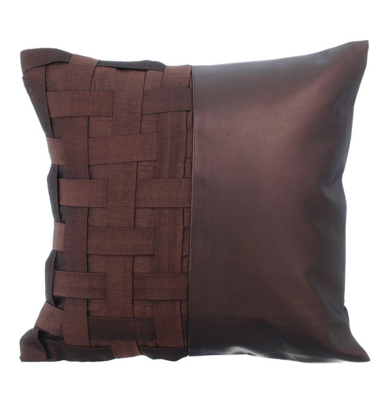 Pin By Bettina G On Pillow Leather Pillow Designer Throw Pillows Pillows