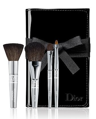 Dior Travel Brush Set Travel brushes, Travel makeup