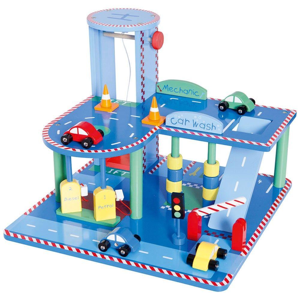 Wooden Toy Garage Luke 1st Birthday Pressies Wooden Toy Garage