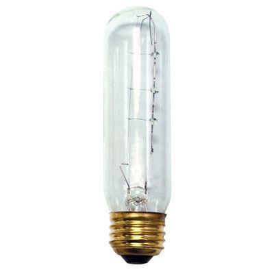 Bulbrite Industries 25 Watt T10 Incandescent Dimmable Light Bulb