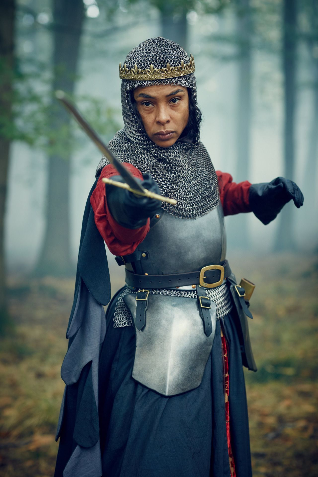 Sophie Okonedo as Margaret of Anjou in The Hollow Crown | Gedymdeith ...