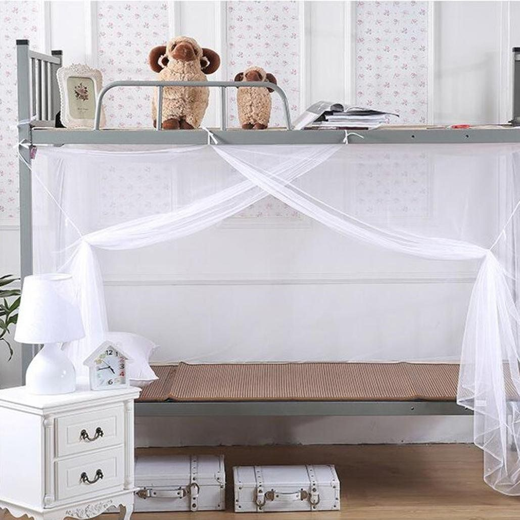 cheapest best loved new high quality Inspiration for attaching curtain to girls beds. Amazon.com ...