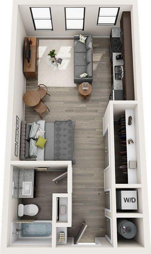 Photo of 59 increíbles ideas de mobiliario para fantásticas habitaciones de apartamentos 06 ~ Litledress – IDEAS DE UPCYCLING