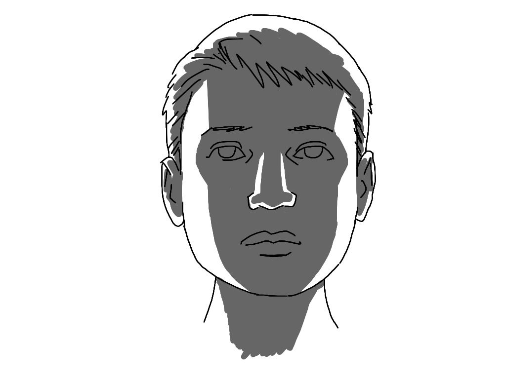 Art Tutorial Light And Shadow On A Face How To Shade A Face In Different Light How To Draw Shadow Light And Shadow Face Drawing