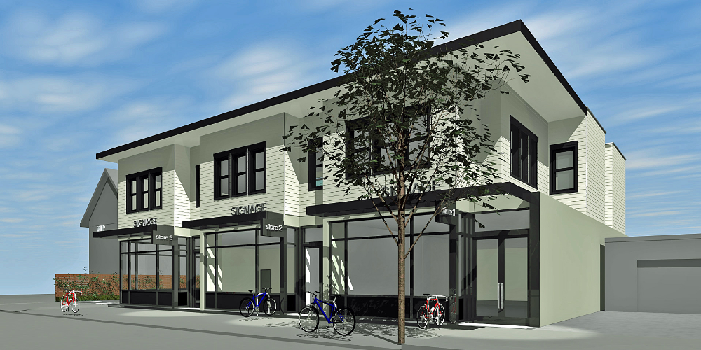 Mixed Use Urban Infill City Of Alameda Ca Kwan Design Architects In 2020 Architect Design Commercial Building Plans Mix Use Building