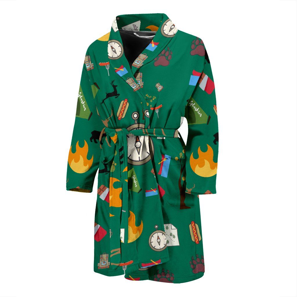 Camping Essentials Men's Bath Robe | Mens essentials ...