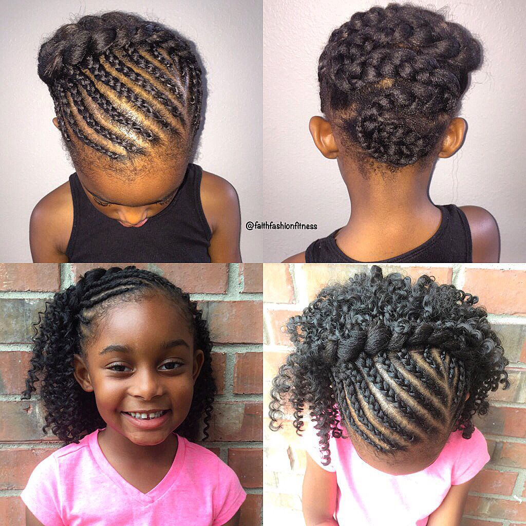 kids crochet braids style natural