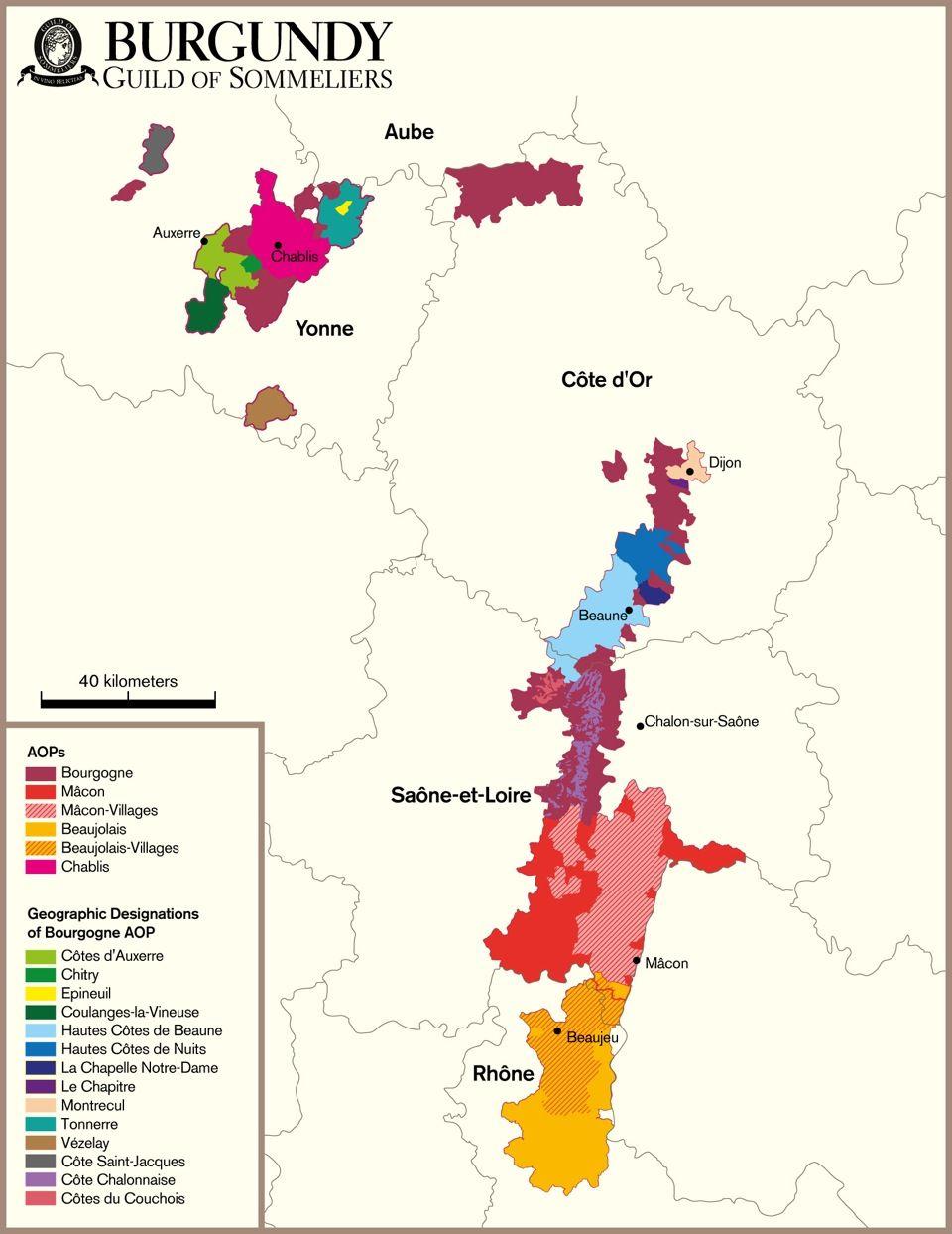 Burgundy Bourgogne France In Vino Veritas Wein Frankreich