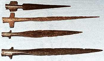 Image of Viking spear head