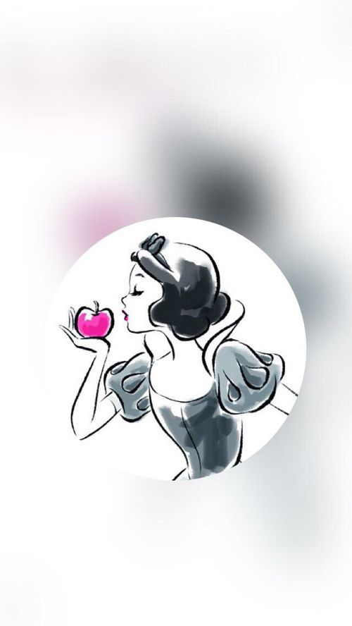 Disney Snow White And Princess Image Iphone Background Disney Disney Drawings Wallpaper Iphone Disney