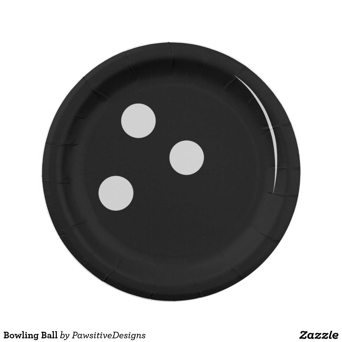 Bowling Ball Paper Plate  sc 1 st  Pinterest & Bowling Ball 7 Inch Paper Plate | Sports Theme ( Various Sports ...