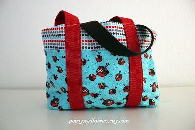 POPPYSEED FABRICS: I love this bag!
