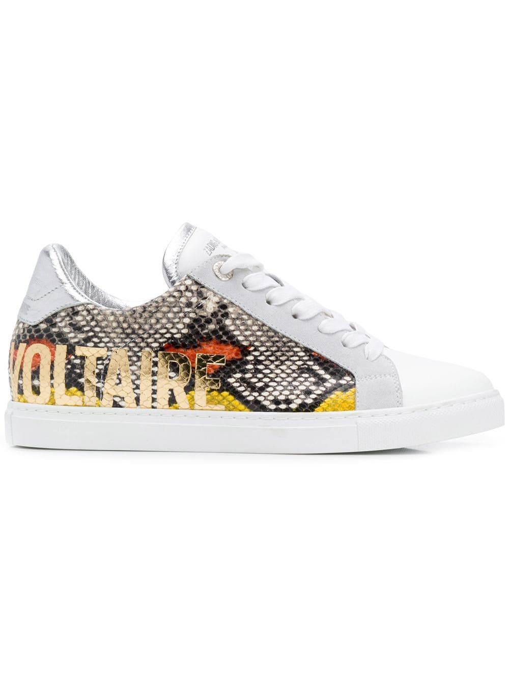 Zadig&Voltaire Wild Print Sneakers | Zadig, voltaire