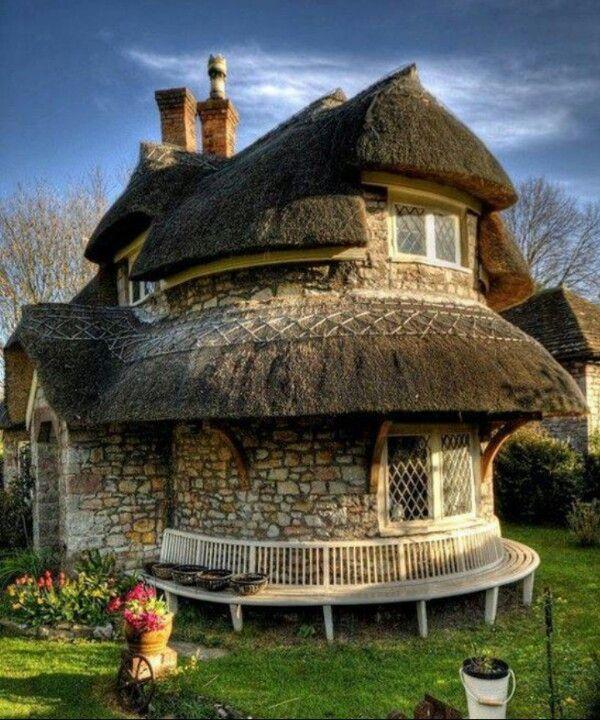 Cottage near Bristol, England